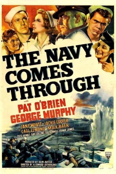 Caratula, cartel, poster o portada de The Navy Comes Through