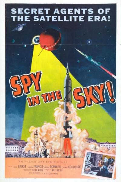 Caratula, cartel, poster o portada de Spy in the Sky!