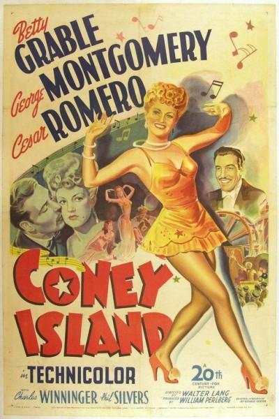 Caratula, cartel, poster o portada de Coney Island