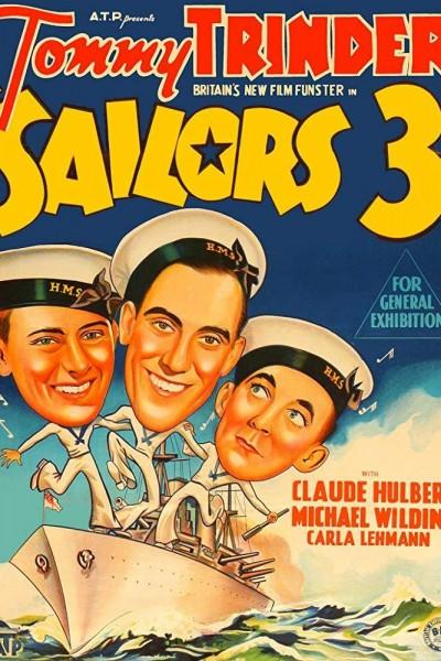 Caratula, cartel, poster o portada de Sailors Three