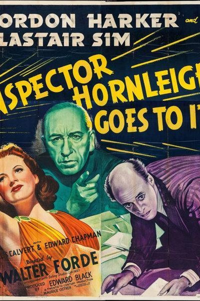 Caratula, cartel, poster o portada de Inspector Hornleigh Goes to It