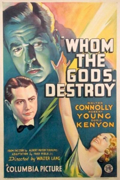 Caratula, cartel, poster o portada de Whom the Gods Destroy
