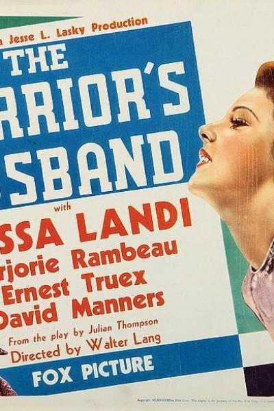 Caratula, cartel, poster o portada de El marido de la amazona
