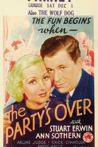 Caratula, cartel, poster o portada de The Party\'s Over