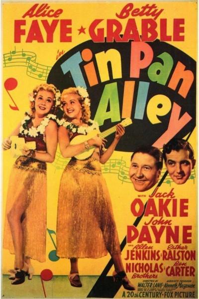 Caratula, cartel, poster o portada de Tin Pan Alley