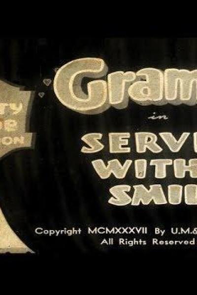 Caratula, cartel, poster o portada de Betty Boop: Service with a Smile