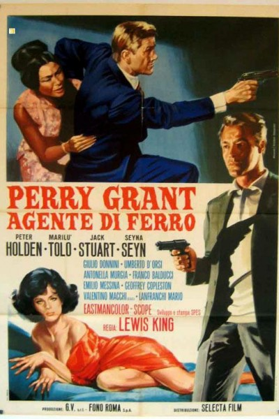 Caratula, cartel, poster o portada de Perry Grant, agente di ferro