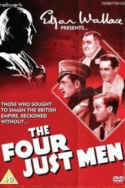 Caratula, cartel, poster o portada de Los cuatro hombres justos