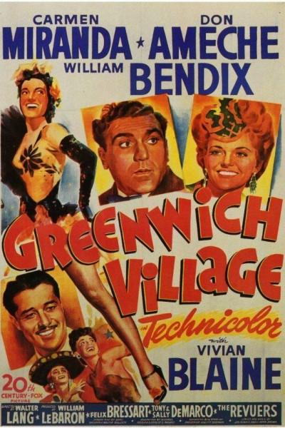 Caratula, cartel, poster o portada de Greenwich Village