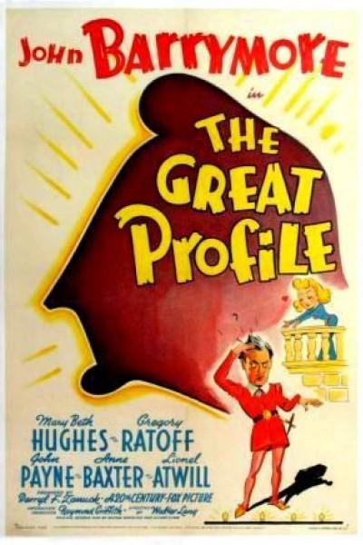 Caratula, cartel, poster o portada de The Great Profile