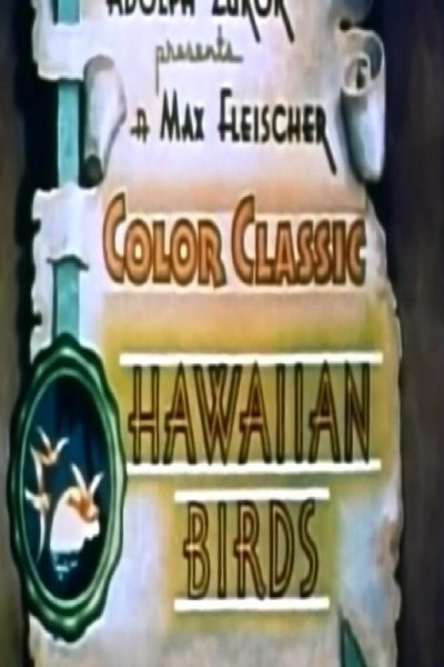 Caratula, cartel, poster o portada de Hawaiian Birds