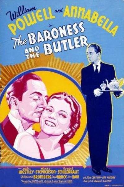 Caratula, cartel, poster o portada de La baronesa y el mayordomo