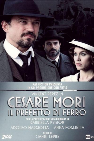 Caratula, cartel, poster o portada de Cesare Mori - Il prefetto di ferro