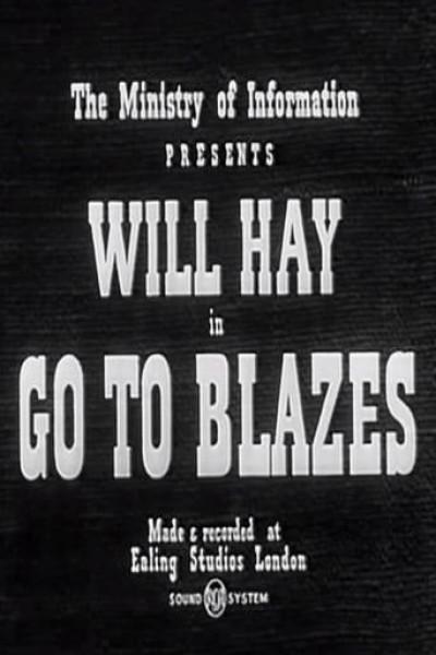 Caratula, cartel, poster o portada de Go to Blazes