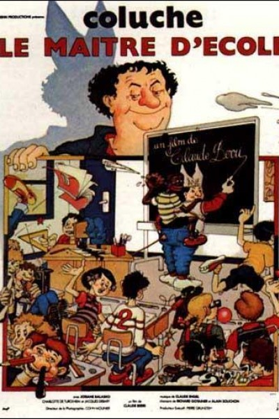 Caratula, cartel, poster o portada de El maestro de escuela