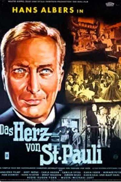 Caratula, cartel, poster o portada de Das Herz von St. Pauli