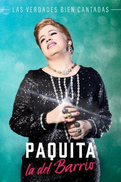 Caratula, cartel, poster o portada de Paquita la del barrio