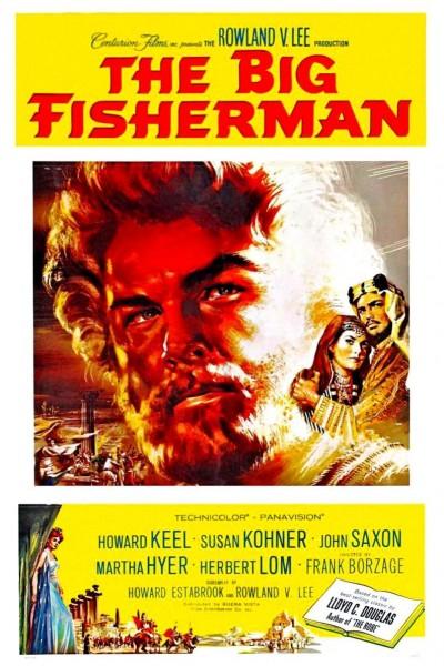 Caratula, cartel, poster o portada de El gran pescador