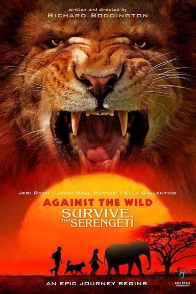 Caratula, cartel, poster o portada de Aventura en el Serengeti