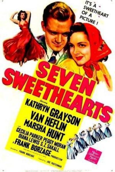 Caratula, cartel, poster o portada de Seven Sweethearts