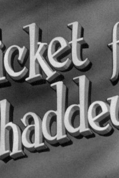 Caratula, cartel, poster o portada de A Ticket For Thaddeus