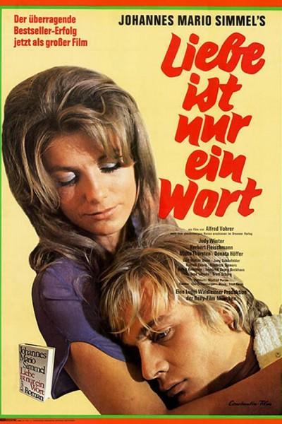 Caratula, cartel, poster o portada de El amor no es más que una palabra
