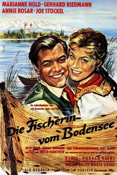 Caratula, cartel, poster o portada de La pescadora del lago