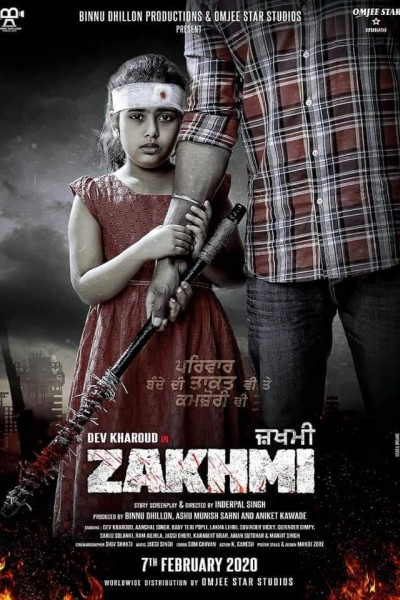 Caratula, cartel, poster o portada de Zakhmi