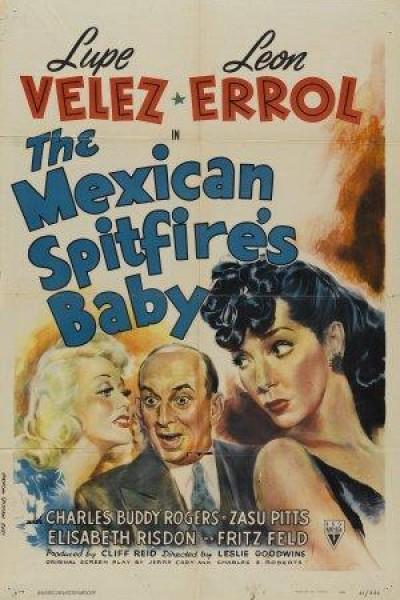 Caratula, cartel, poster o portada de The Mexican Spitfire\'s Baby