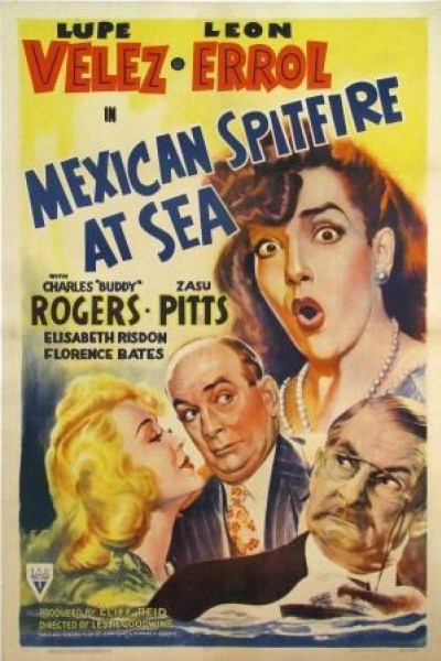 Caratula, cartel, poster o portada de Mexican Spitfire at Sea