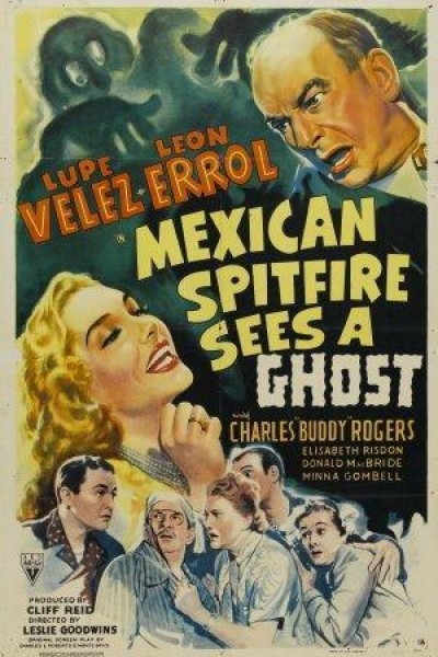 Caratula, cartel, poster o portada de Mexican Spitfire Sees a Ghost