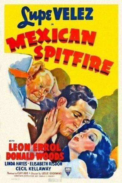 Caratula, cartel, poster o portada de La ardiente mexicana