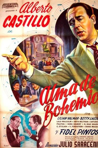 Caratula, cartel, poster o portada de Alma de bohemio