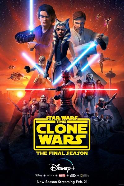Caratula, cartel, poster o portada de Star Wars: The Clone Wars. The Final Season