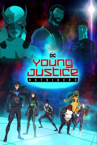 Caratula, cartel, poster o portada de Young Justice: Outsiders