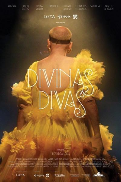 Caratula, cartel, poster o portada de Divinas Divas