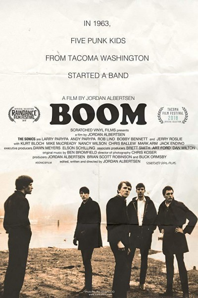 Caratula, cartel, poster o portada de Boom! A Film About the Sonics