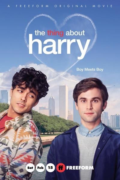 Caratula, cartel, poster o portada de The Thing About Harry
