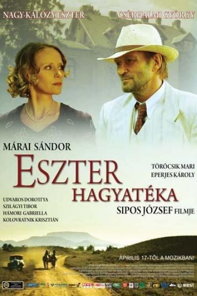 Caratula, cartel, poster o portada de La herencia de Eszter