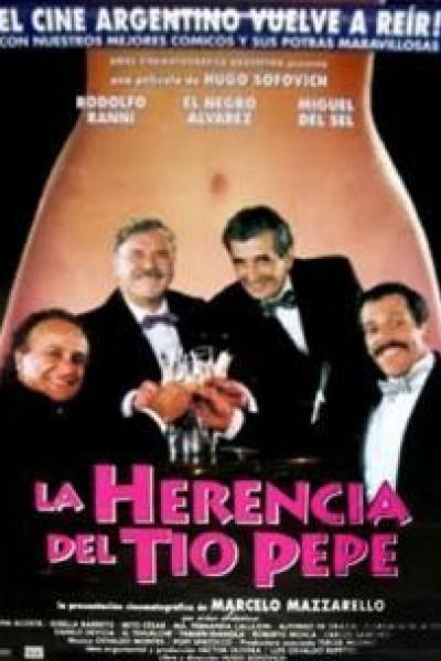 Caratula, cartel, poster o portada de La herencia del Tío Pepe