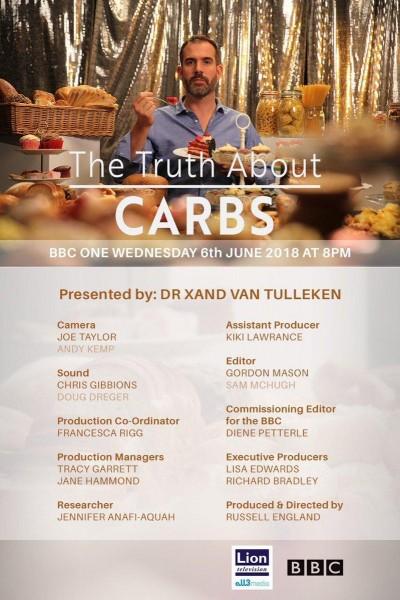 Caratula, cartel, poster o portada de La verdad sobre los carbohidratos