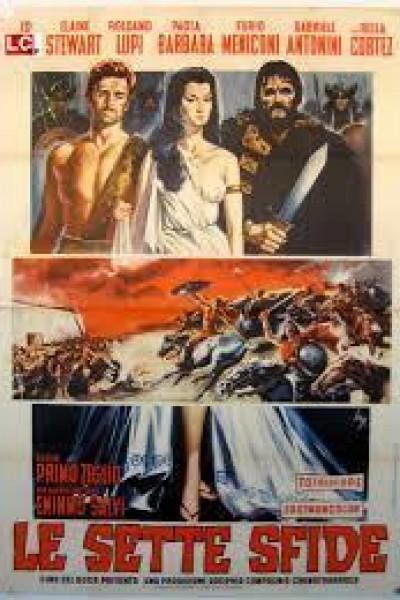 Caratula, cartel, poster o portada de Le sette sfide
