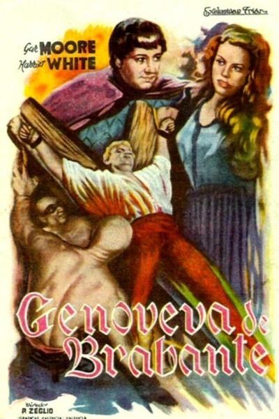 Caratula, cartel, poster o portada de Genoveva de Brabante
