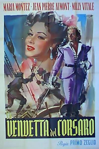Caratula, cartel, poster o portada de La vendetta del corsaro