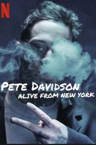 Caratula, cartel, poster o portada de Pete Davidson: Alive From New York
