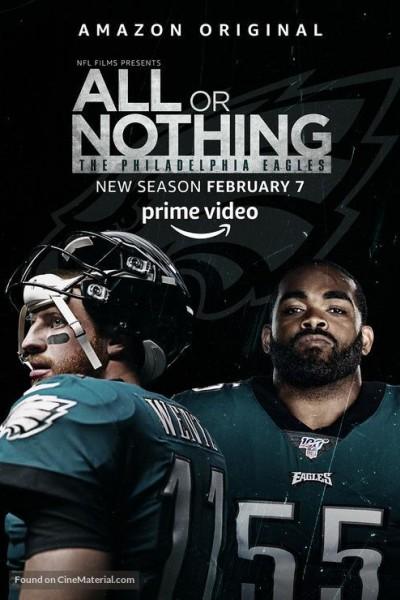 Caratula, cartel, poster o portada de All or Nothing: The Philadelphia Eagles