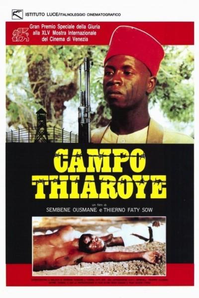 Caratula, cartel, poster o portada de Campo de Thiaroye