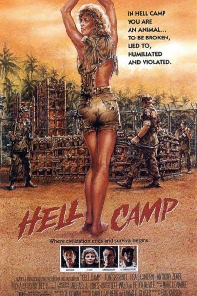 Caratula, cartel, poster o portada de Campo del infierno