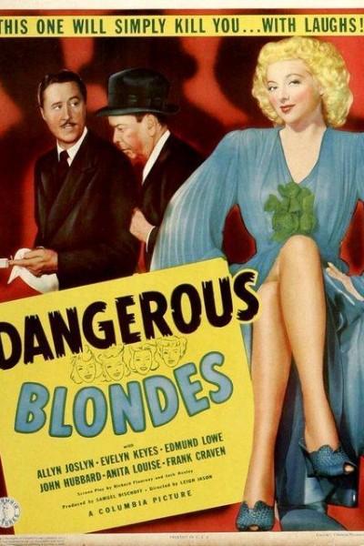 Caratula, cartel, poster o portada de Dangerous Blondes