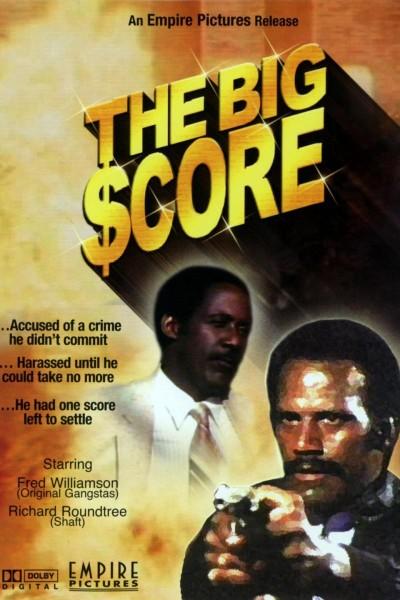 Caratula, cartel, poster o portada de The Big Score